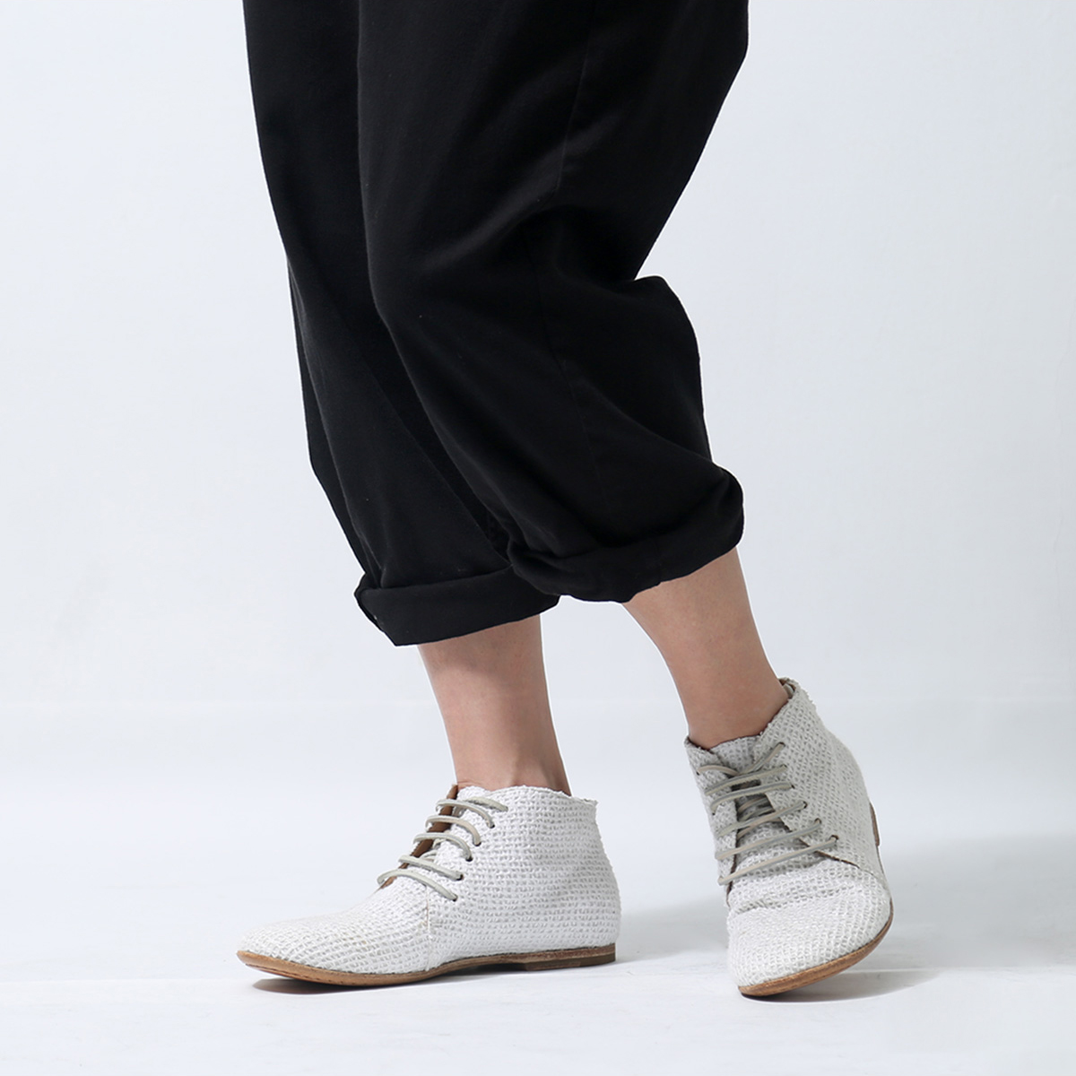 RUNDHOLZ LACEUP MIDDLE SHOES 146 5207_OFF WHITE