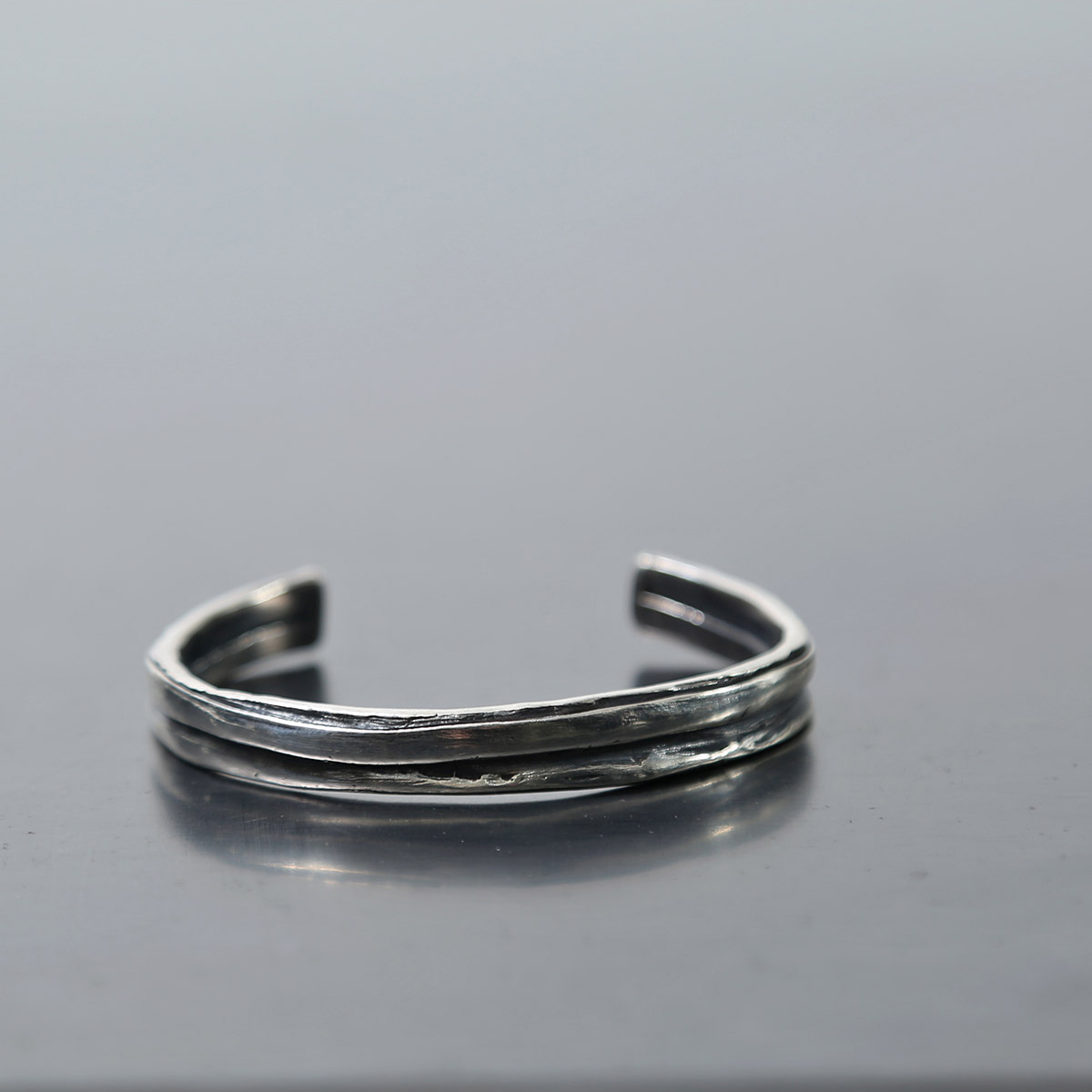 Rusty Thought COIL BANGLE_SPB_S