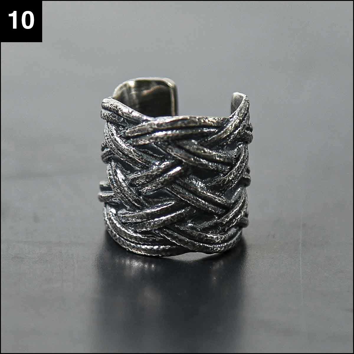 Rusty Thought_BRAIDS RING SIL925_BR1