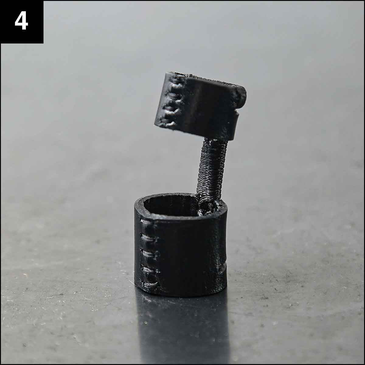 Julia Fom_DOUBLE LEATHER RING ASE3_BLACK