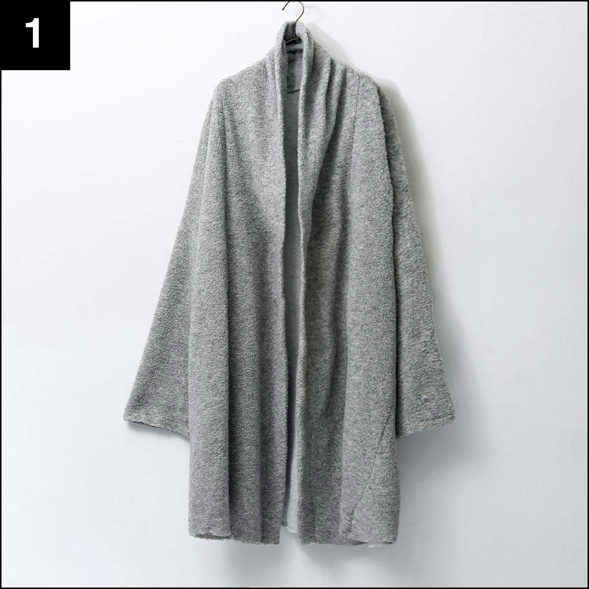 bajra_2WAY CARDIGAN COAT