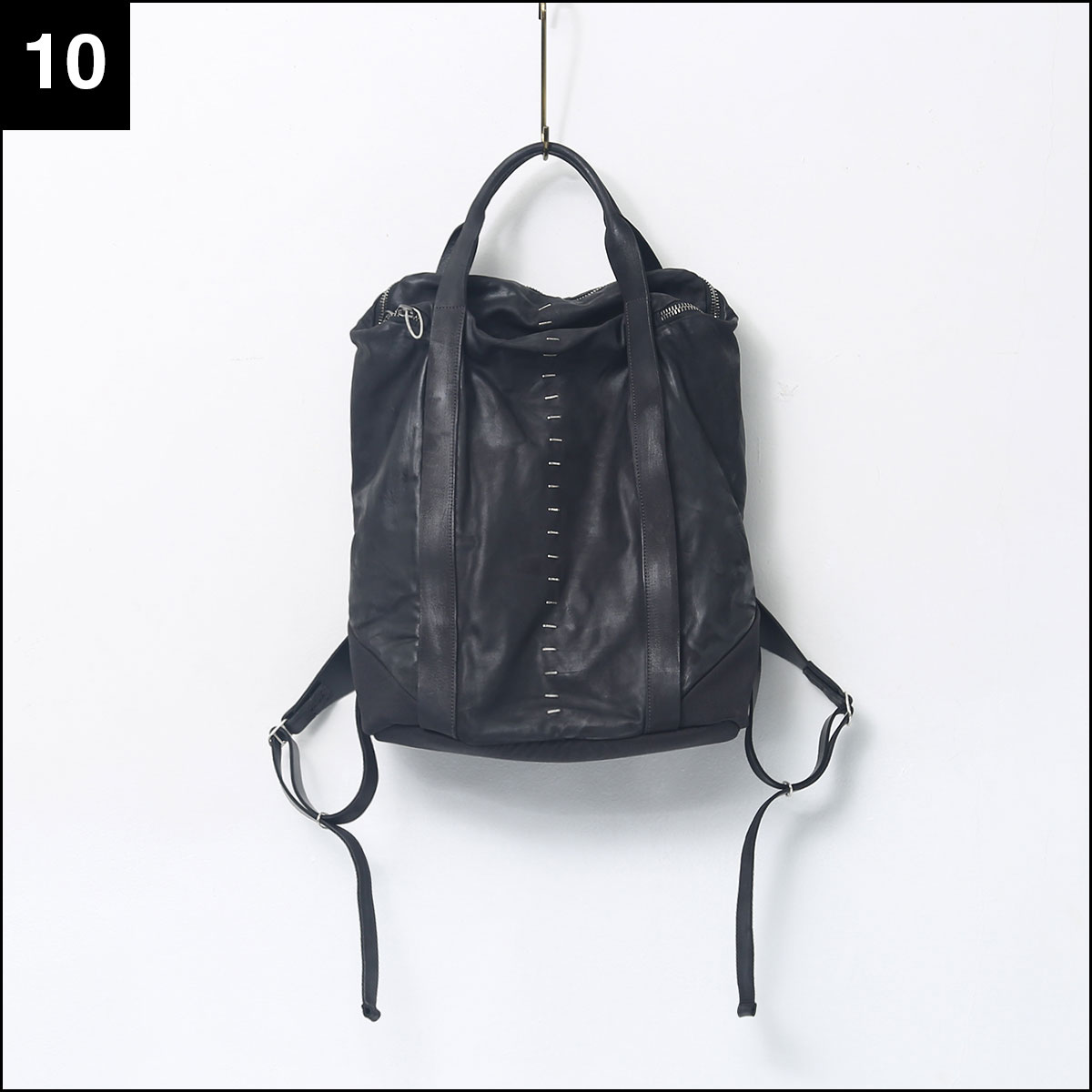 DANIELE BASTA_BULL LEATHER BACKPACK