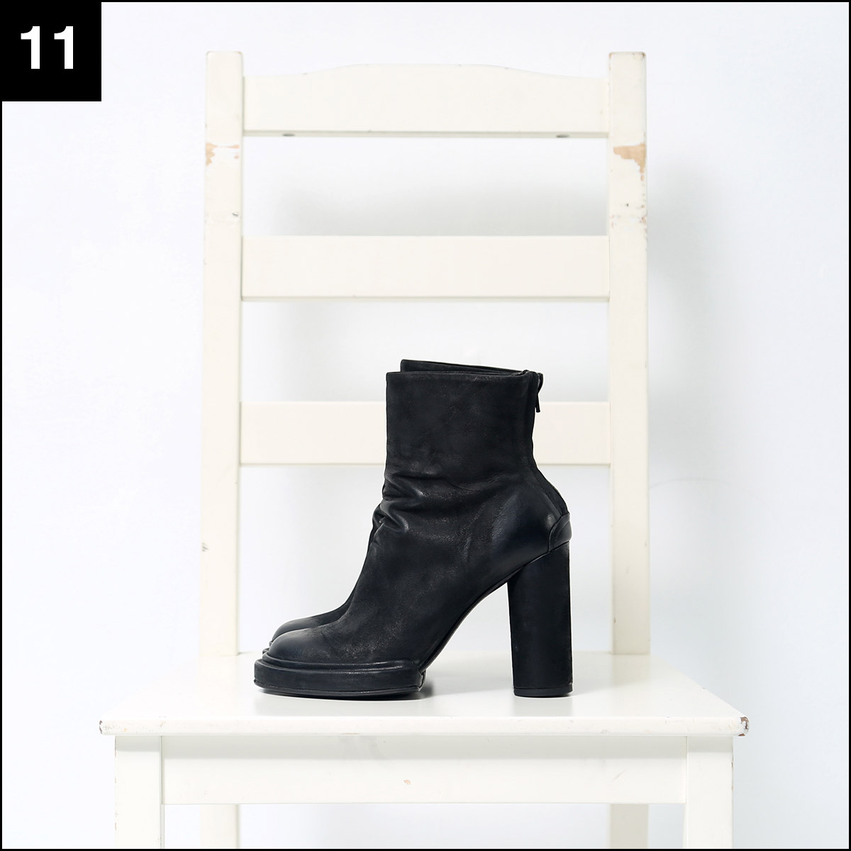 the last conspiracy_HEEL LEATHER BOOTS