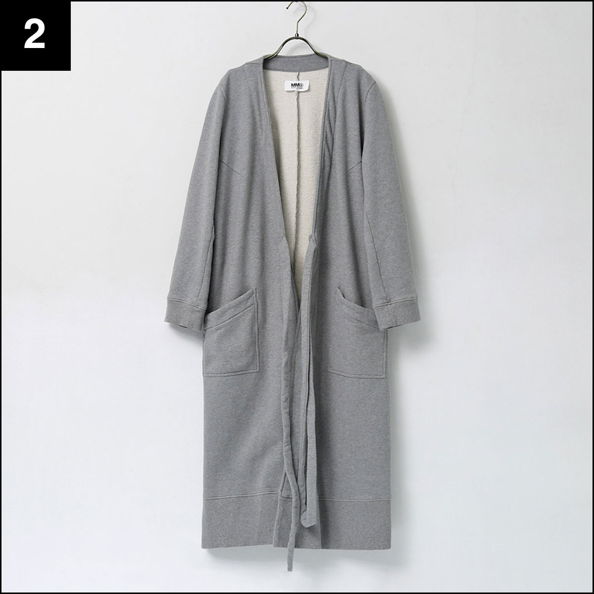 MM6 Maison Margiela_SWEAT LONG CARDIGAN